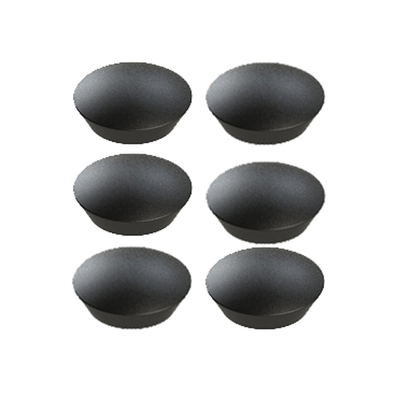 Harmony Magnets, Black (pack of 6)