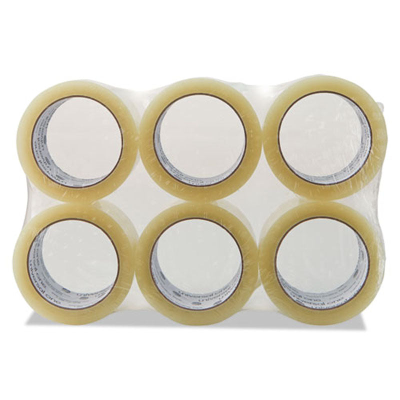 "Heavy-Duty Box Sealing Tape, 3"" Core, 2"" x 165', Clear (box of 36 Rolls)"