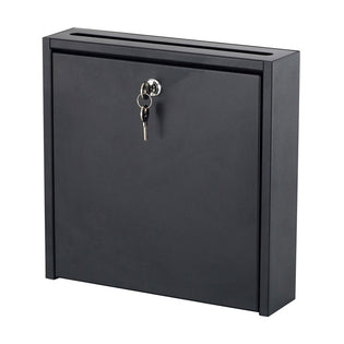 Interoffice Locking Mailboxes, Black