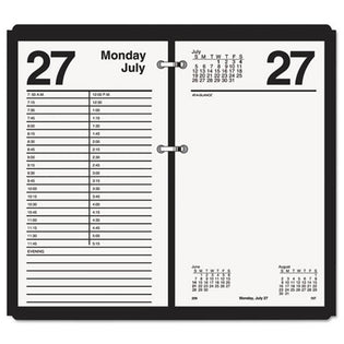 "Large Desk Calendar Refill, 4 1/2"" X 8"", White, 2021"