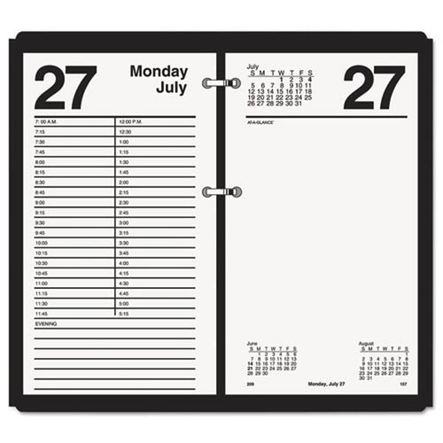 "Large Desk Calendar Refill, 4 1/2"" X 8"", White, 2020"