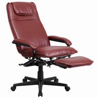 LeatherSoft High-Back Executive Recliner