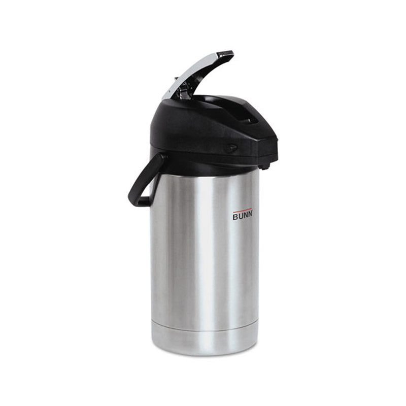 Lever-Action 3.0 Liter Airpot, Stainless Steel