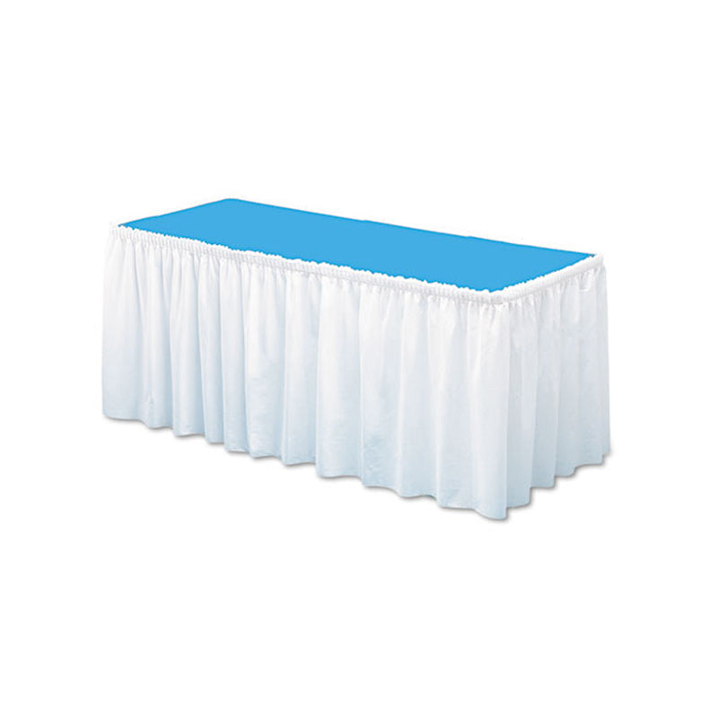 "Linen-Like Table Skirting, 29""w x 14 ft"