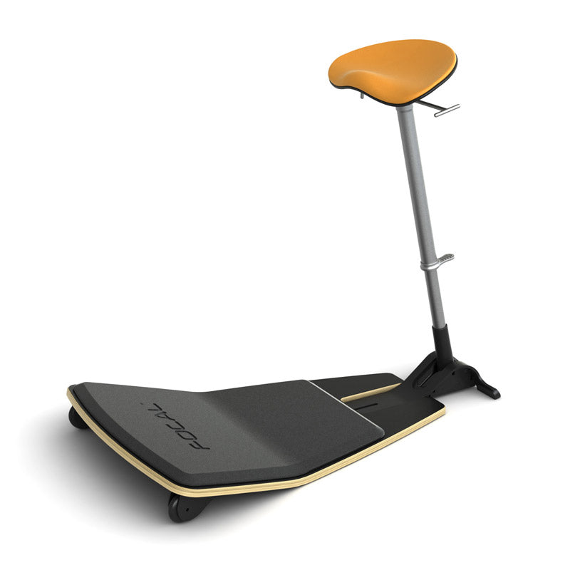 Locus Stool with Built-In Anti-Fatigue Mat & Footrest