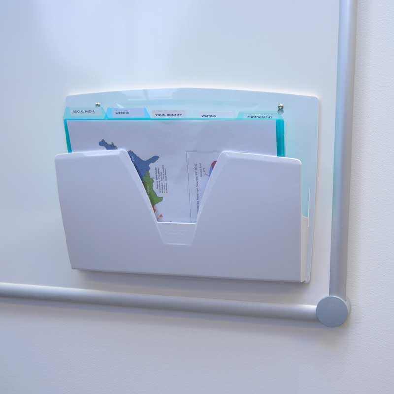 Magnetic File Pocket w/ 25 PocketFiles