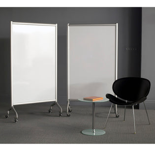 "42"" x 72"" Mobile Whiteboard Screen"