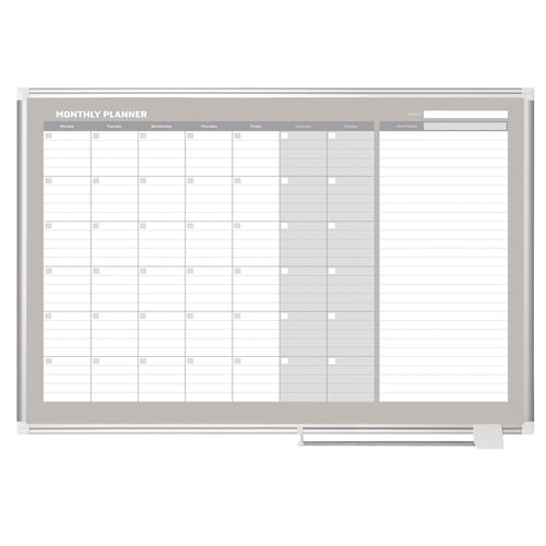 Monthly Planners, Aluminum Frame