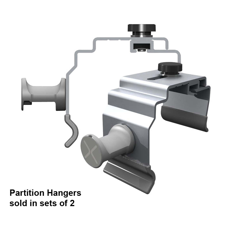Nexus Tablet Partition Hangers