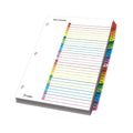 OneStep Printable Table of Contents Dividers w/ Tabs, 1-31, Letter (set of 31)