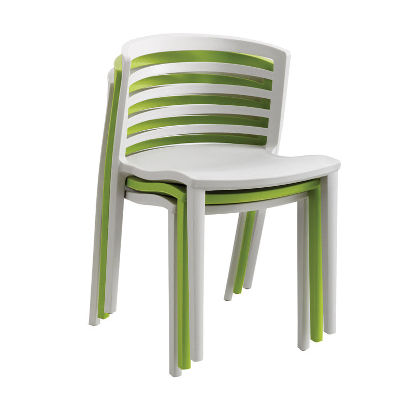 Outdoor Stack Chairs (set of 4 chairs)