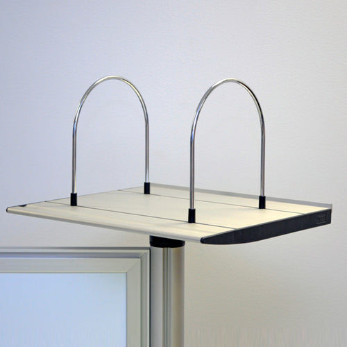 OutPost Single Post Shelf w/ Bookends