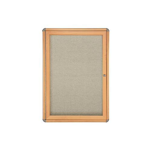 "Ovation 34"" x 24"" 1-Door Enclosed Bulletin Board"