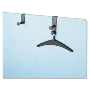 Over-the-Panel Coat Hook, Black