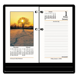"Photographic Desk Calendar Refill, 3 1/2"" X 6"", 2021"