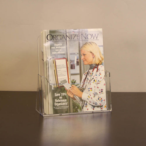 1-Pocket Acrylic Countertop Literature Display