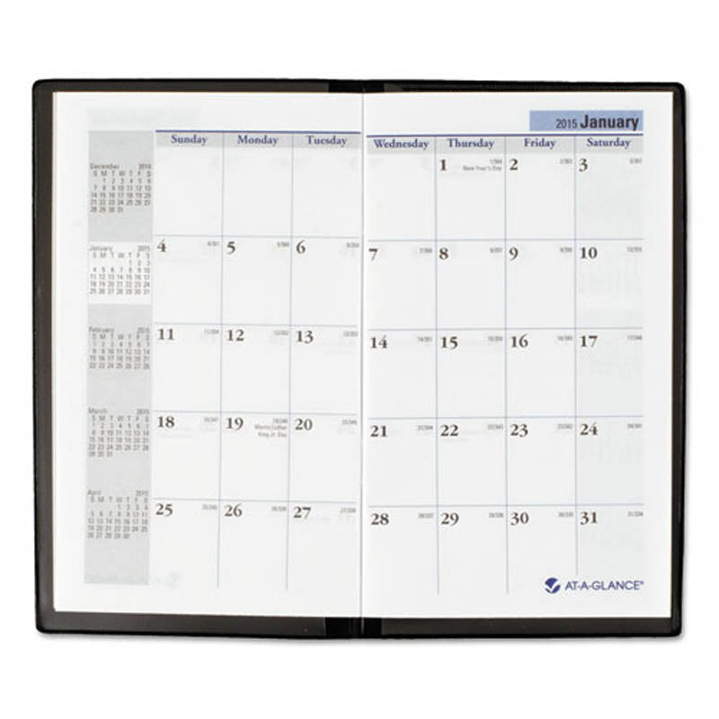 pocket sized monthly planner ultimate office