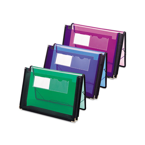 "Poly Expanding Wallets, 2 1/4"" Expansion, Letter"