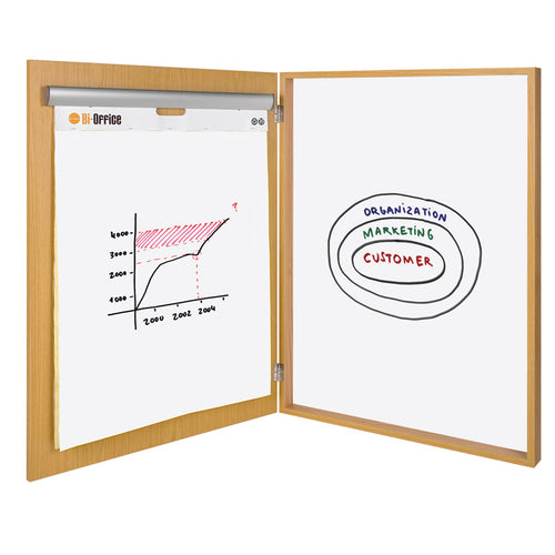 "Porcelain Magnetic Dry-Erase Conference Cabinet, 1-Door, 39"" x 31"""