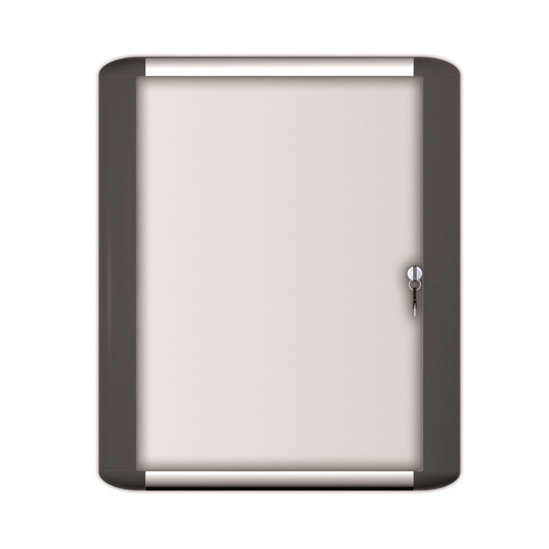Porcelain Magnetic Enclosed Boards, Aluminum and Black