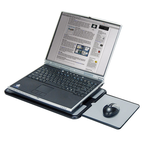 Portable Laptop Desk w/ Extending Mouse Pad