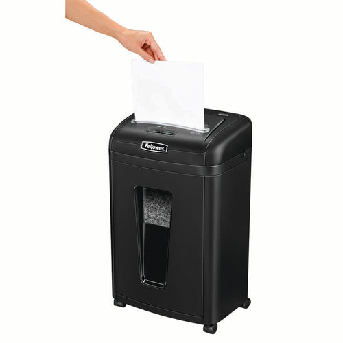 Powershred 455ms Micro-Cut Shredder, 9 Sheet Capacity
