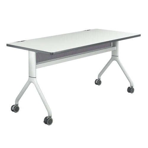 "Premier Folding Conference Table, 30""d Rectangle"