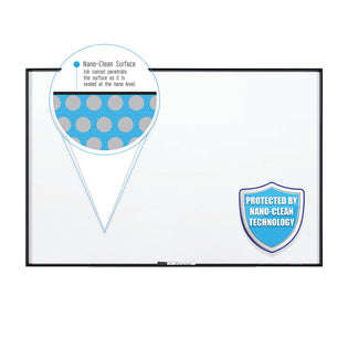 Premium Fusion Nano-Clean Magnetic Whiteboard