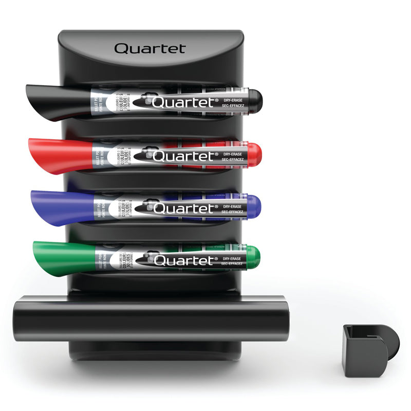 Prestige 2 Connects Marker Caddy w/ 4 Dry-Erase Markers & 1 Eraser