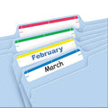 "Print or Write File Folder Labels, 11/16"" x 3 7/16"" (pack of 252)"