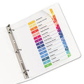 Ready Index Table of Contents Dividers w/ Multicolor Tabs, 1-15, Letter