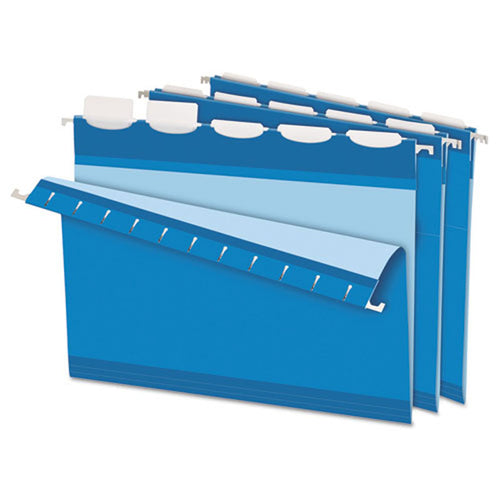 Ready-Tab Colored Reinforced Hanging File Folders