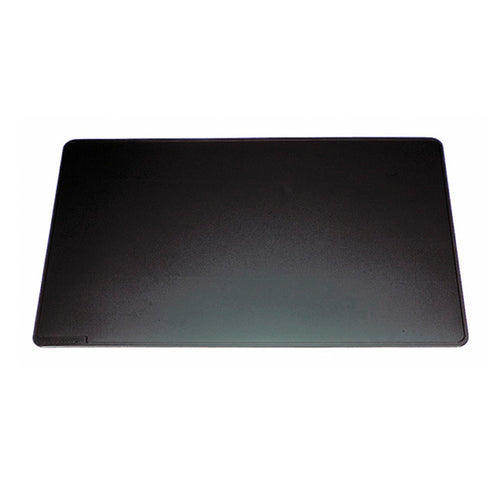 "Rectangular Desk Pad, 25 3/4""w x 20 5/8""d, Black"