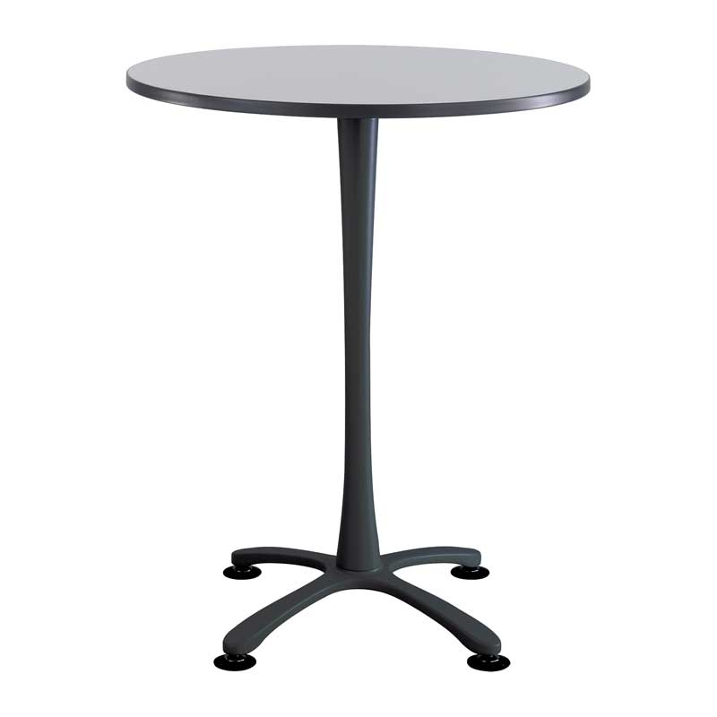 Round Bistro-Height Table w/ X Base