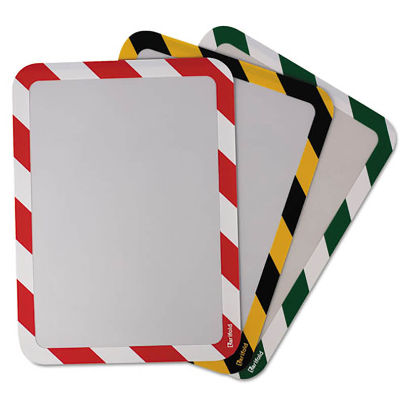 Safety Frame Display Pocket w/ Self-Adhesive Back, for Letter Size (pack of 2)