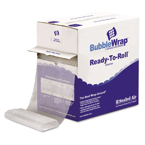"Self-Cling Bubble Wrap, 3/16"" Thick, 12"" x 175' Roll"