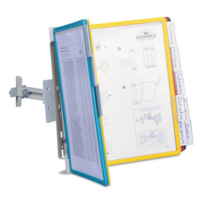 10-Pocket Panel Bracket Reference Organizer