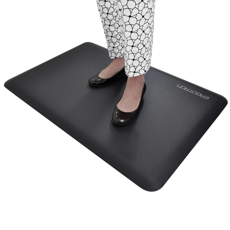 Sit/Stand Anti-Fatigue Floor Mat, Black | Ultimate Office