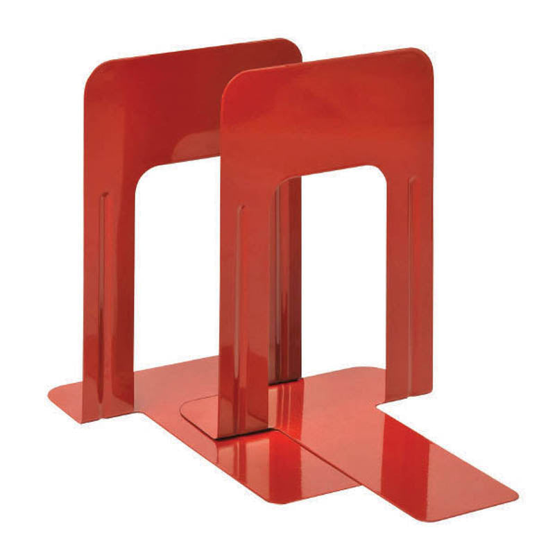 "SteelWorx 9"" Jumbo Bookends (set of 2)"