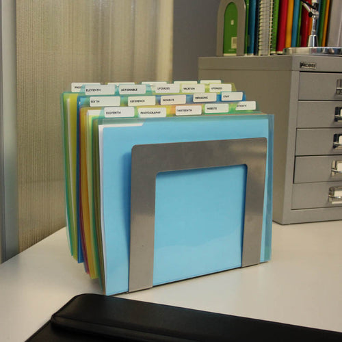 SteelWorx 3-Compartment StepUp File PLUS+ 25 PocketFiles