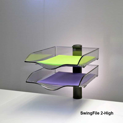 SwingFile Letter Trays, 2-High