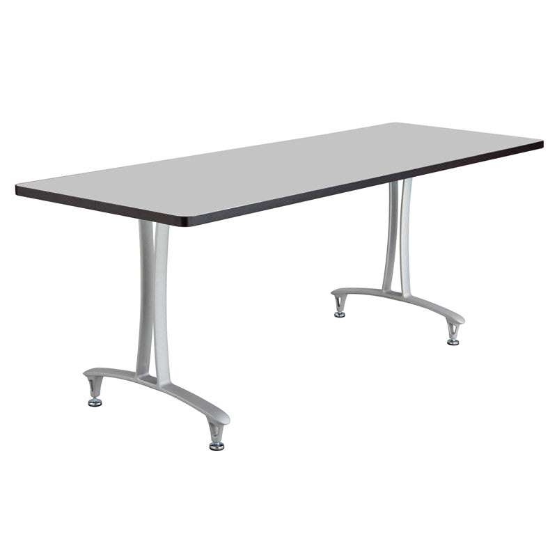 Table w/ T-Leg & Adjustable Glides