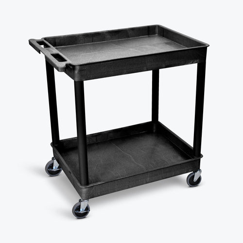 Large Tub Cart - Two Shelves