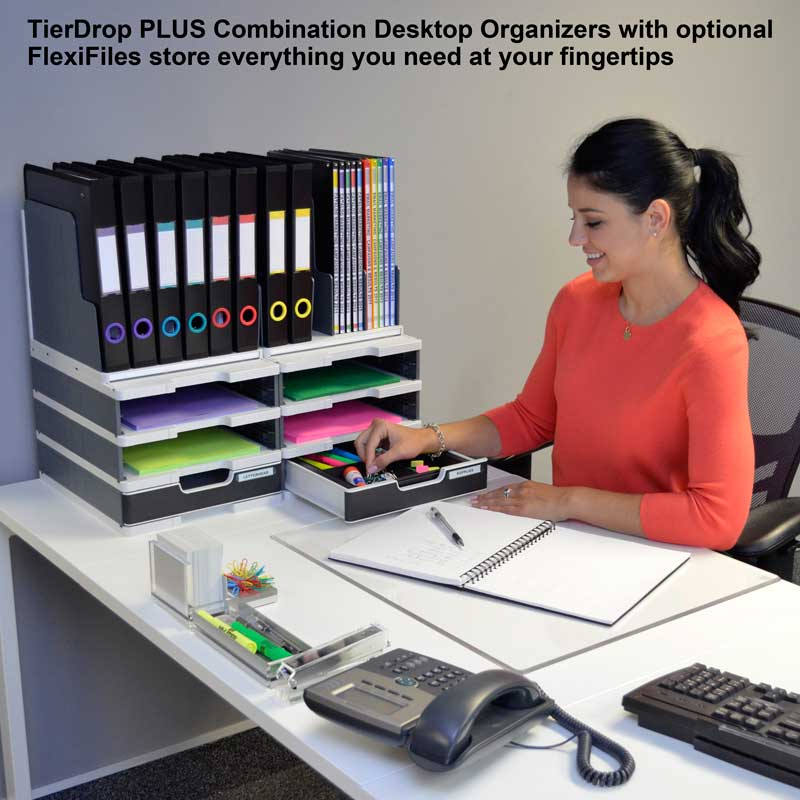 TierDrop PLUS 2-Wide Desktop Combination V