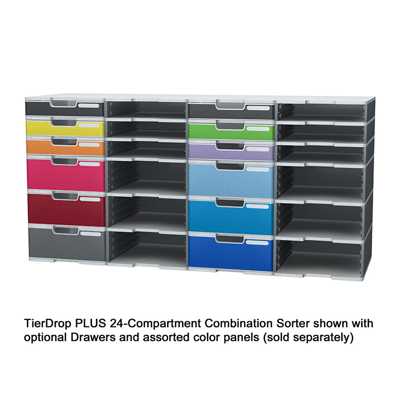 TierDrop PLUS Jumbo Drawer Panel Kit, Assorted (set of 10)