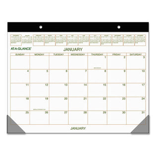 "Two-Color Desk Pad, 22"" X 17"", 2021"