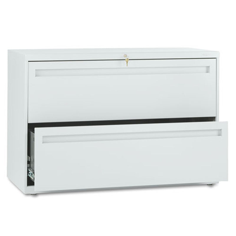 "Two-Drawer Heavy-Duty Lateral File Cabinet, 42""w x 19 1/4""d x 28 3/8""h"