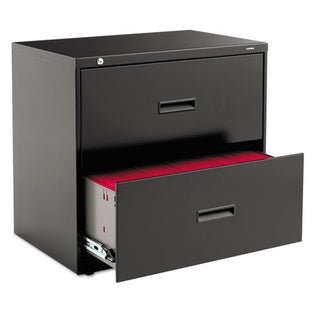 "Two-Drawer Lateral File Cabinet, 30""w x 19 1/4""d x 28 3/8""h"