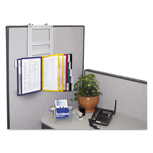 10-Pocket Partition Reference Organizer