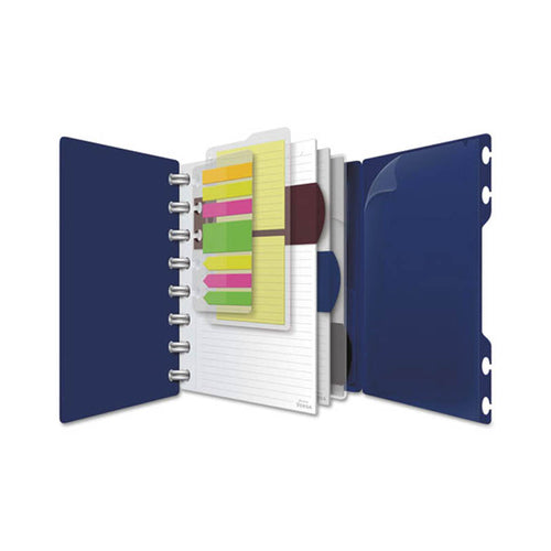 Crossover™ Notebook, Wide Rule, 60 Sheets, Navy